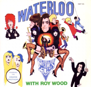 "Doctor & The Medics With Roy Wood - Waterloo (12"") (EX/VG)"